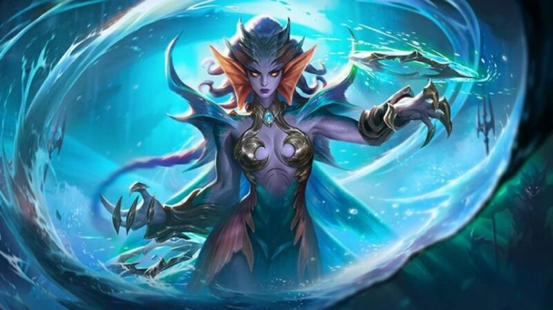 Hero Hyper Mobile Legends Karrie