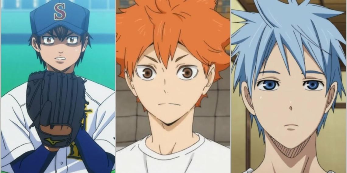 Karakter Anime Atlet Keren