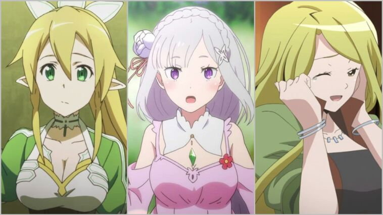 Karakter Anime Elf Cantik