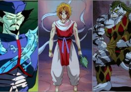 Karakter The Saint Beasts Yu Yu Hakusho