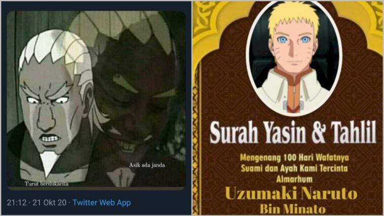Meme Lucu Tentang Naruto Mati