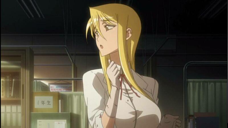Karakter anime berambut pirang Shizuka Marikawa