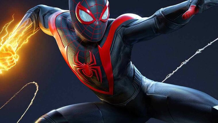 Spider Man Miles Morales Lawan Rhyno