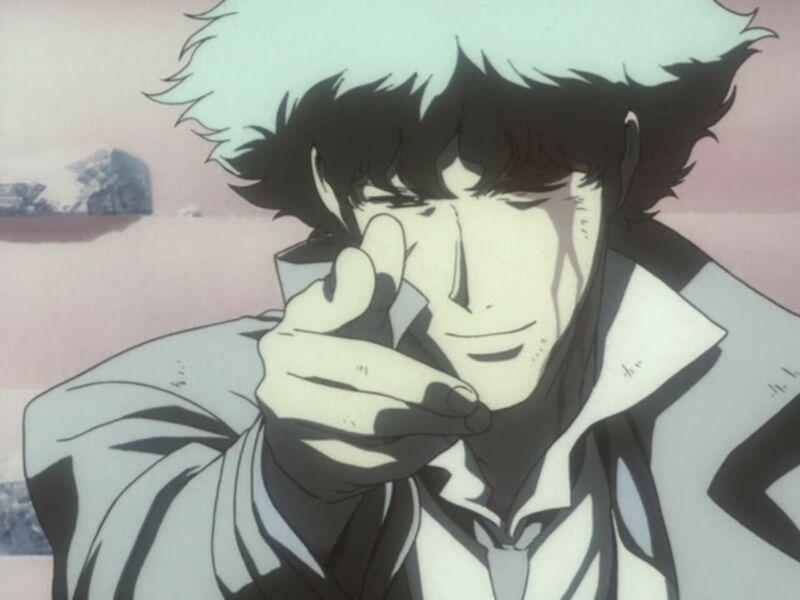 Tokoh utama anime mati Spike Spiegel