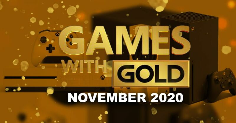 Xbox Games With Gold November 2020