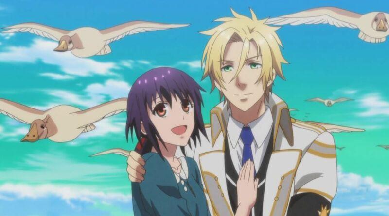 Karakter anime cewek harem Yui Kusanagi
