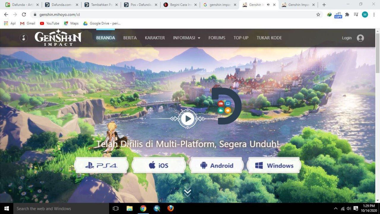 Download Geshin Impact PC