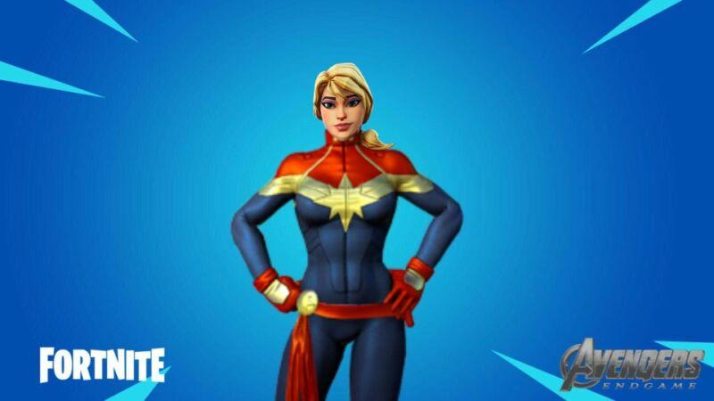 Skin Captain Marvel