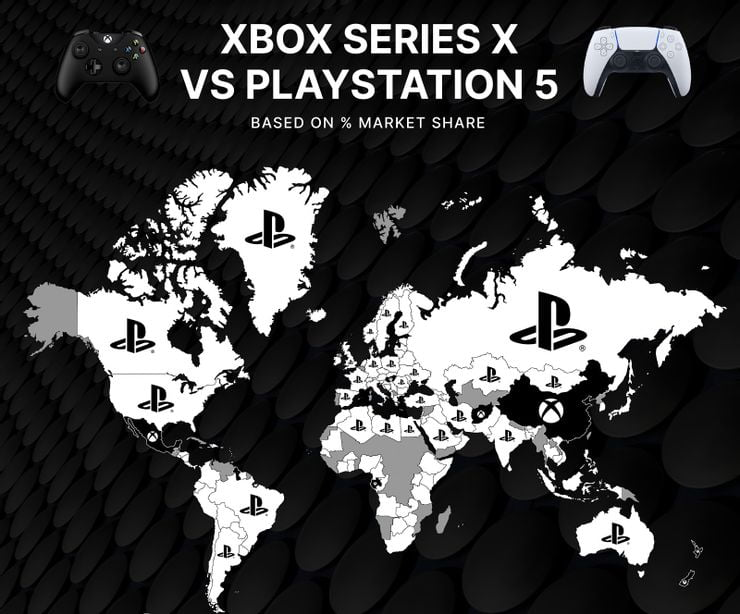 Xbox Ps5 Market Share Data Rise At Seven