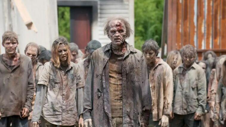 Virus zombie the walking dead