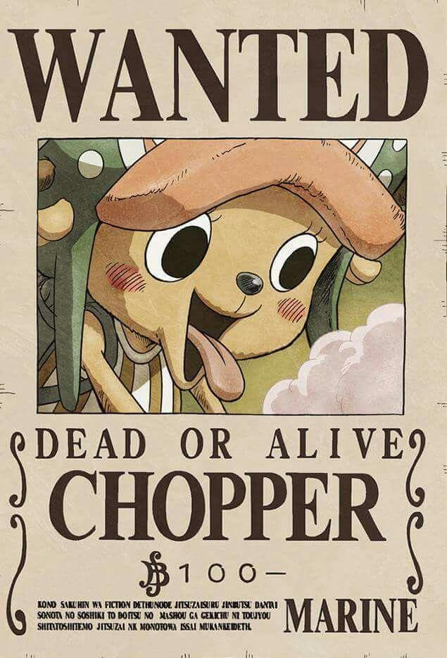 Fakta Menarik Chopper Bounty Chopper
