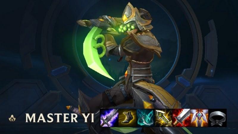 Build Master Yi Wild Rift