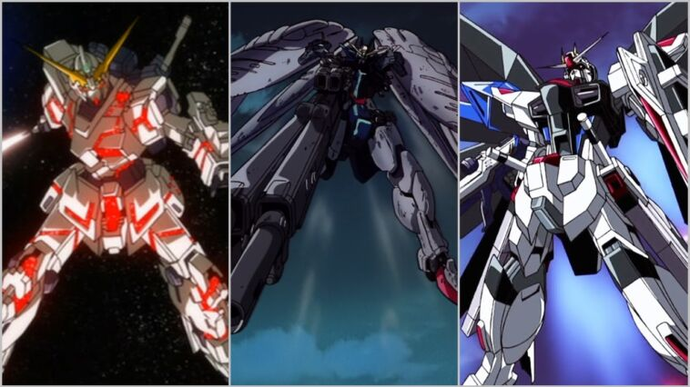 Gundam Terkuat Dengan Senjata Berbahaya