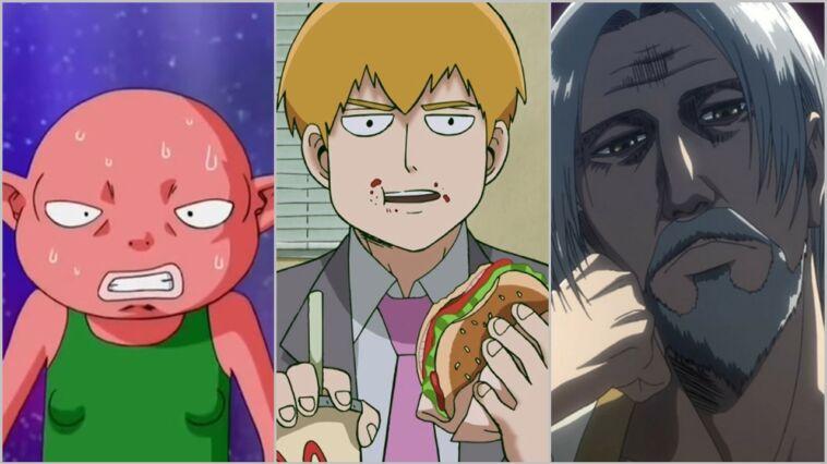 Karakter Anime Lemah Yang Berlaga Kuat