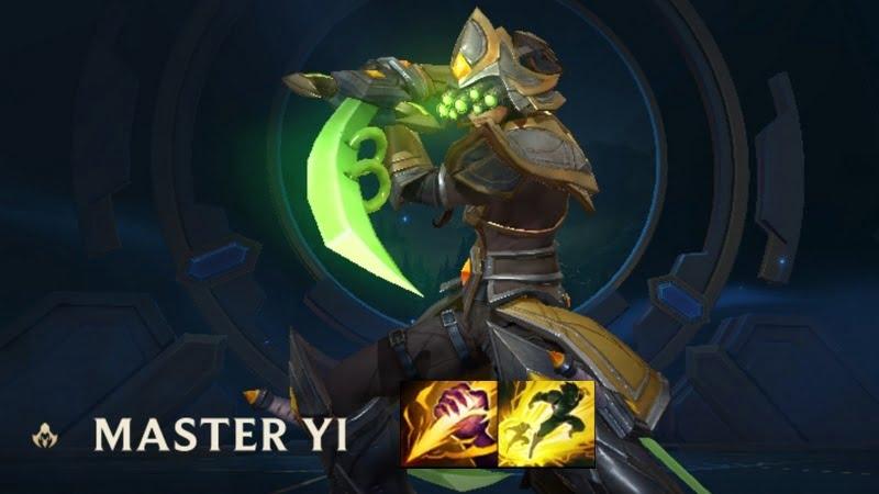 Spell Master Yi Wild Rift