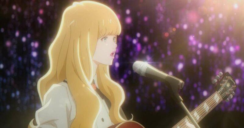 Karakter Anime Bermain Gitar Tuesday