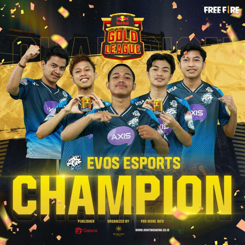 Evos Esports Juara Red Bull Gold League