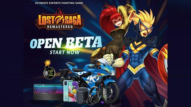 Lost Saga Remastered Open Beta
