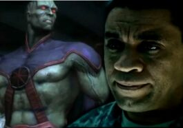 Martian Manhunter Harry Lennix