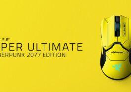 Mouse Razer Viper Ultimate Cyberpunk 2077 Edition