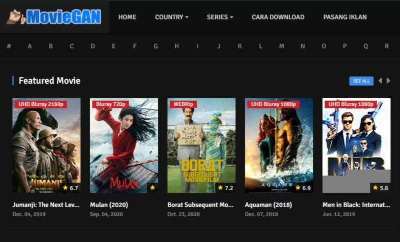 Situs Moviegan Terbaru