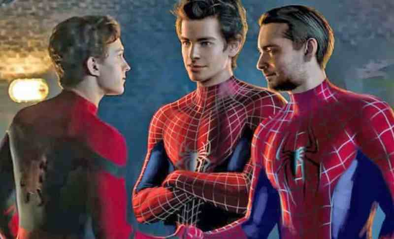 Spider Man 3 Tobey Maguire Andrew Garfield Tom Holland
