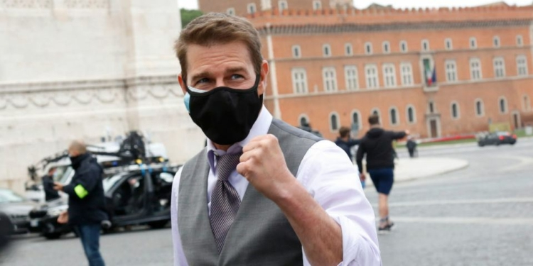 set mission impossible 7 tegang tom cruise