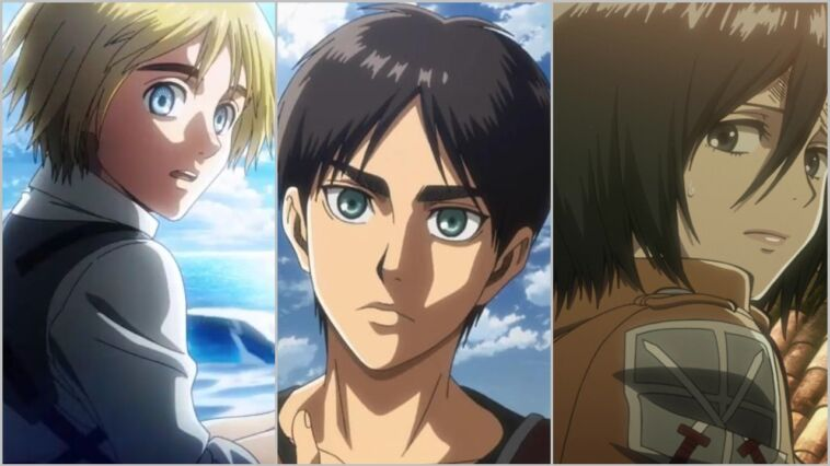 Alasan Kenapa Eren Benci Armin Dan Mikasa