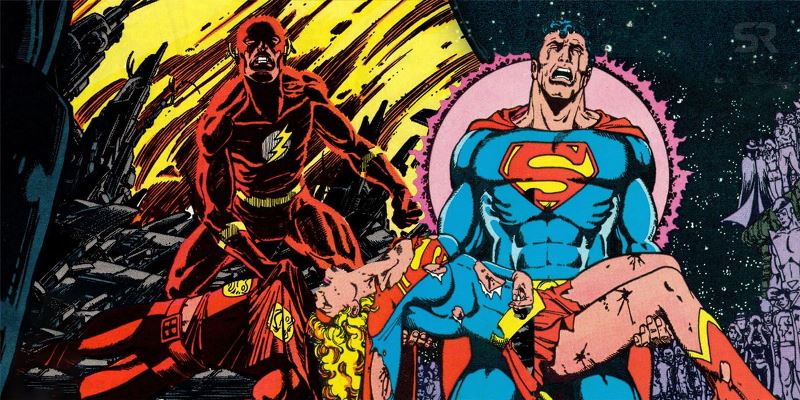 Crisis On Infinite Earths Flash And Superman