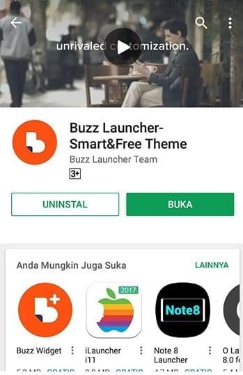 Install Buzz Launcher