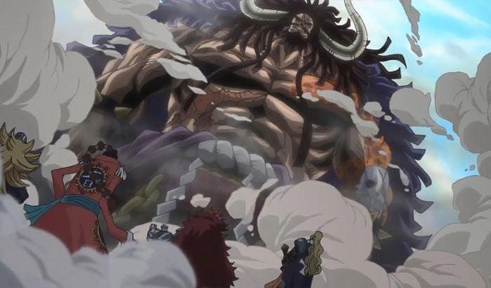 One Piece Fisik Kuat Kaido