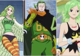 Karakter One Piece Berwarna Rambut Hijau
