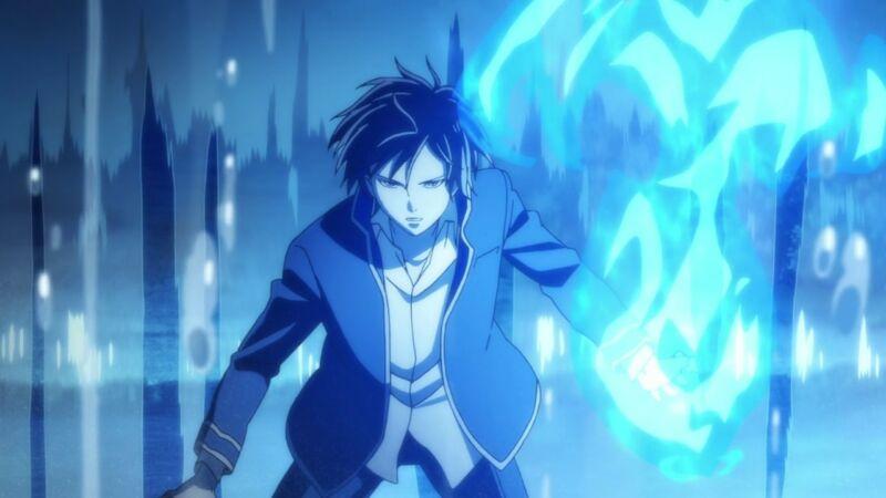 Karakter Anime Api Biru Rei Ogami