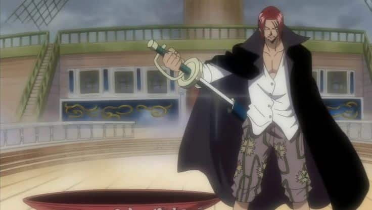 One Piece Haoshoku Haki Shanks