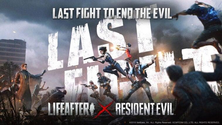 Fase Kedua Lifeafter X Resident Evil