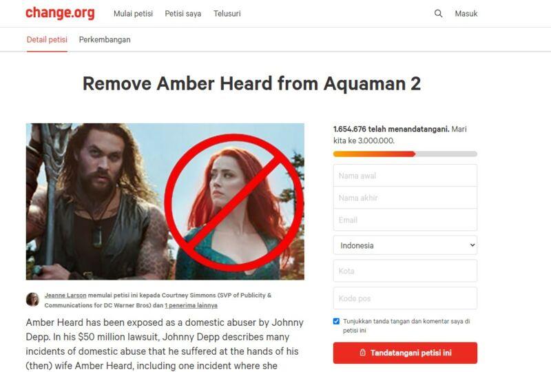 Petisi Amber Heard
