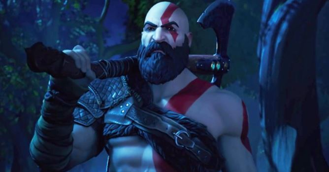 Trailer Kratos Fortnite