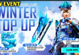 Winter Top Up Event Ff