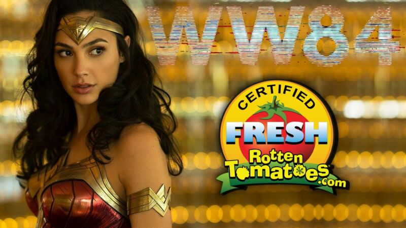 Wonder Woman 1984 Rotten Tomatoes