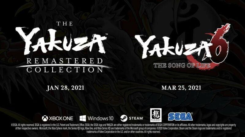 Yakuza Remastered Collection 1