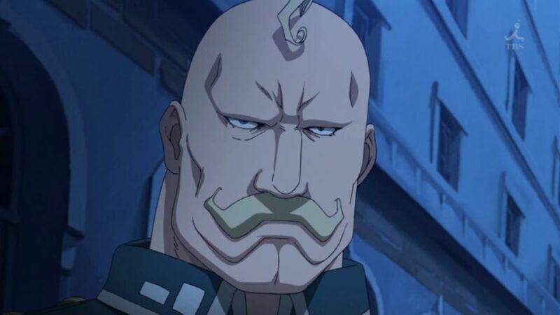 Karakter Anime Botak Kekuatan Besar Alex Louis Armstrong