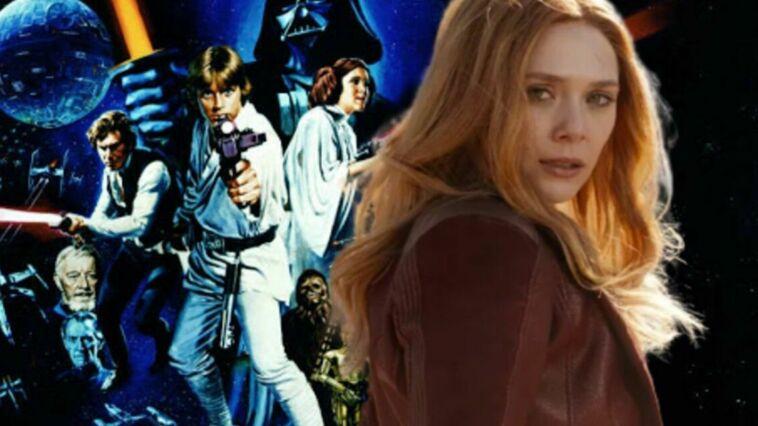 Elizabeth Olsen Star Wars Scarlett Witch