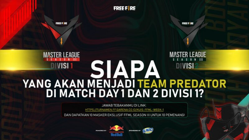 Free Fire Master League Season Iii