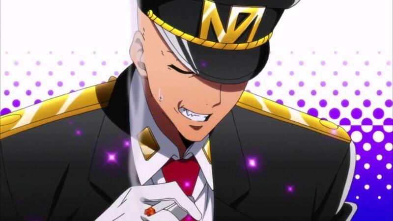 Karakter Anime Botak Kekuatan Besar Hajime Sugoroku