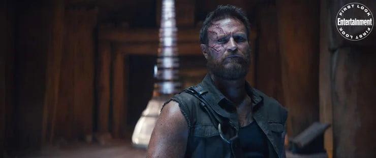 Josh Lawson As Kano In Mortal Kombat Movie