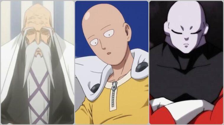 Karakter Anime Botak Yang Mempunyai Kekuatan Besar