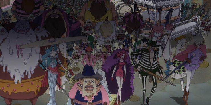 Keluarga Terkuat One Piece Keluarga Charlotte