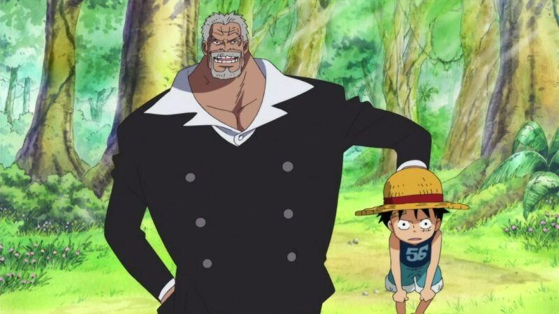 Keluarga Terkuat One Piece Keluarga Monkey
