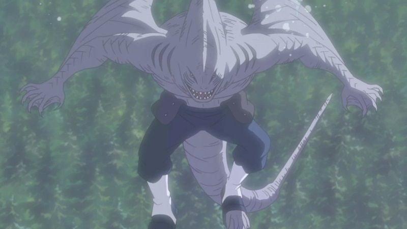 Monster Sekuat Bijuu Kisame Dan Samehada