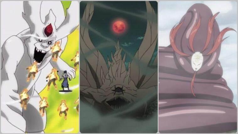 Mahluk Dengan Ukuran Besar Di Anime Naruto Dan Boruto